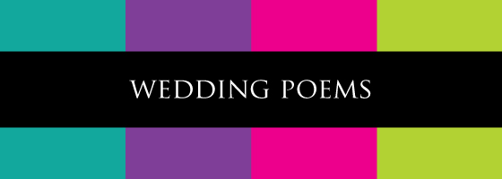 personalised weddding poems and speeches