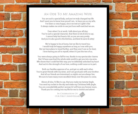 framed poems by iwantapoem