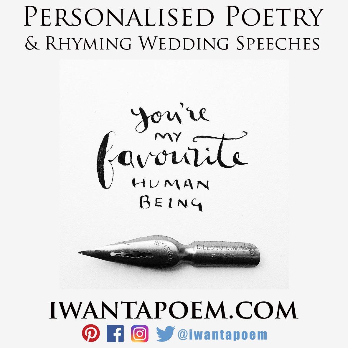 Custom written poems